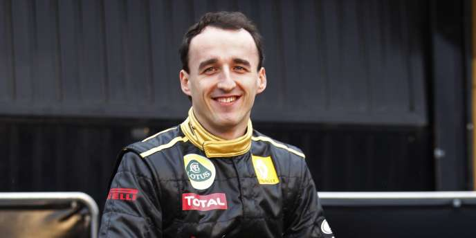 Robert Kubica, le 31 janvier à Valence.