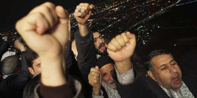 Téhéran, jeudi soir 10 février.