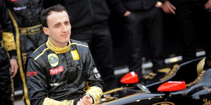 Robert Kubica, le 31 janvier.