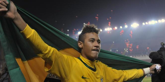 Neymar à Arequipa le 12 février.