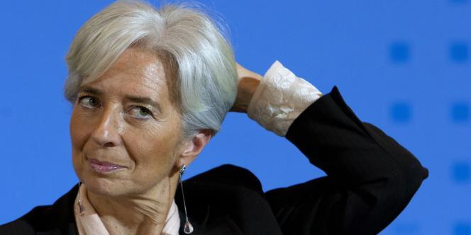 Christine Lagarde, ministre de l'économie.
