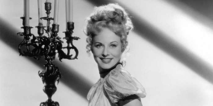 Paulette Goddard dans le film français de Jean Renoir,