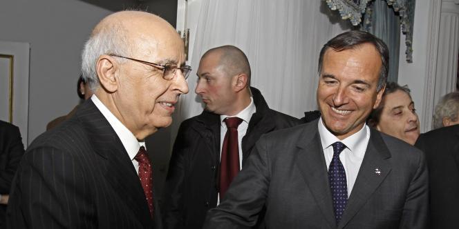 Les frictions entre les deux pays avaient pris un tel tour que le ministre des affaires étrangères italien, Franco Frattini, s'est rendu à Tunis pour rencontrer le premier ministre, Mohamed Ghannouchi, pour une visite éclair.