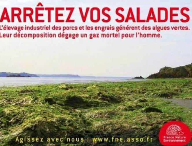 L'une des affiches de FNE.