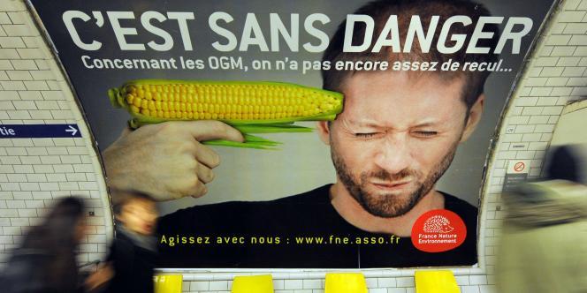 Dans le métro parisien, le 15 février.