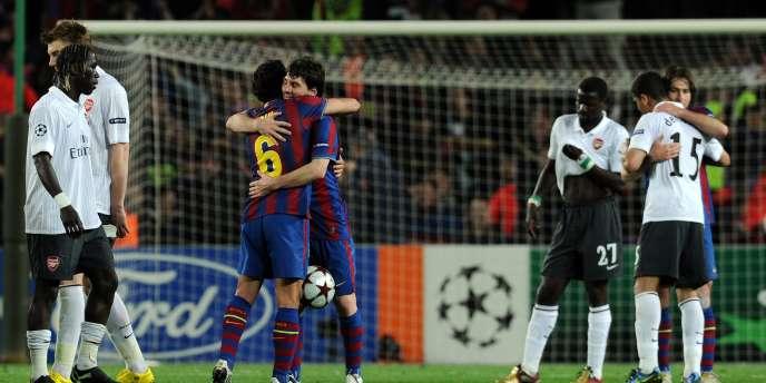 Barcelone-Arsenal le 6 avril 2010.