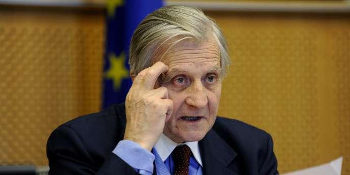 Le président de la Banque centrale européenne, Jean-Claude Trichet.