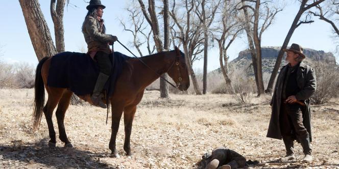 Jeff Bridges dans le film américain d'Ethan et Joel Coen,