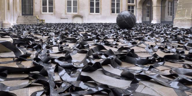 Pierre-Étienne Morelle, Grow, 2008-2010, vue de l'exposition