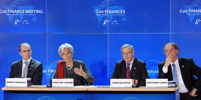 Le G20 à Paris le 19 février.