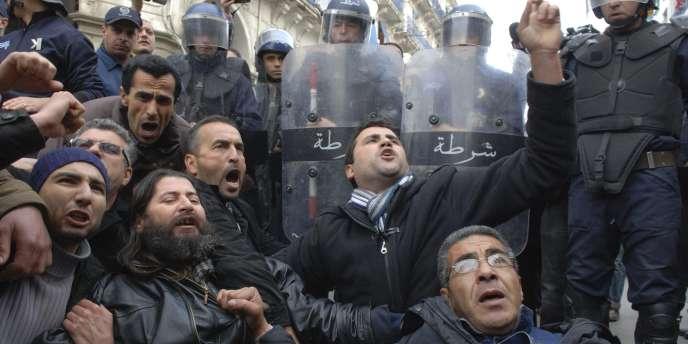 Alger, samedi 19 février.