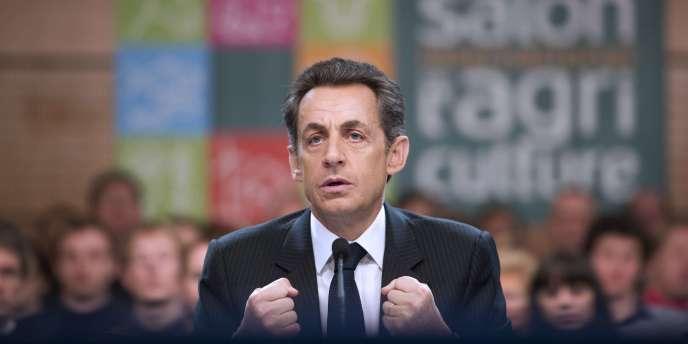 Nicolas Sarkozy, le 19 février.