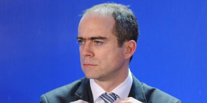 Le directeur du Trésor, Ramon Fernandez, lors d'une conférence de presse à Paris, le 19 février 2011.