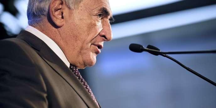 Dominique Strauss-Kahn à Paris, le 19 février 2011.