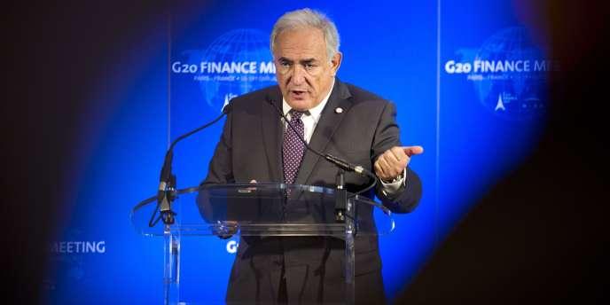 Dominique Strauss-Kahn, à Paris, le 19 février.