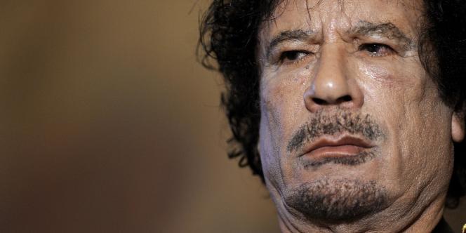 Mouammar Kadhafi, en juin 2009 à Rome.