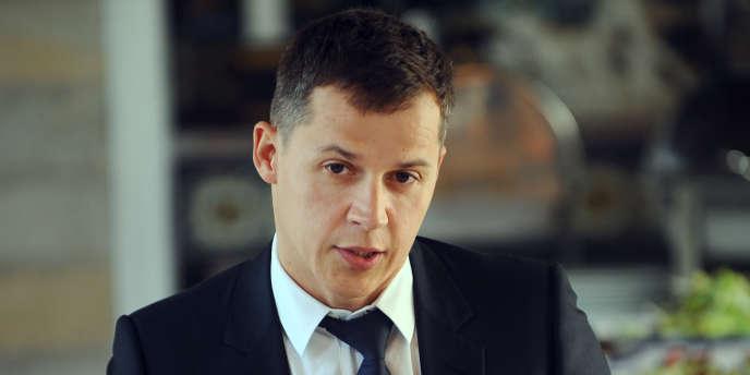 Boris Boillon, l'ancien ambassadeur de France en Tunisie, le 17 février 2011, à Tunis.