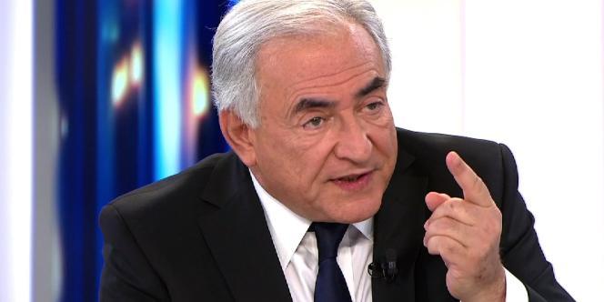 Dominique Strauss-Kahn sur le plateau de France 2, le 20 février 2011.