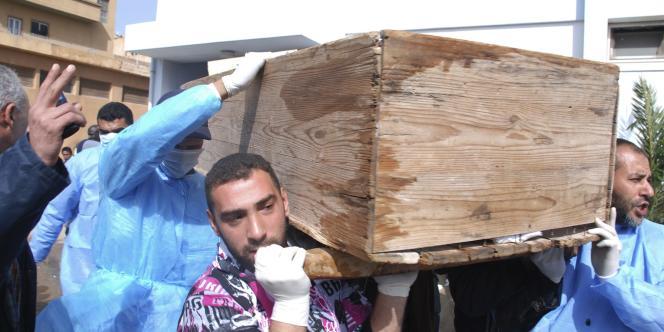 A Benghazi, lundi 21 février.