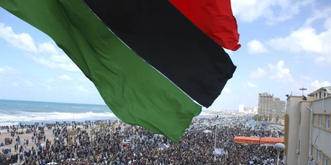 Photo prise par un habitant de Benghazi à une date inconnue et obtenue par AP.