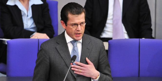 Le ministre de la défense allemand, Karl-Theodor zu Guttenberg.