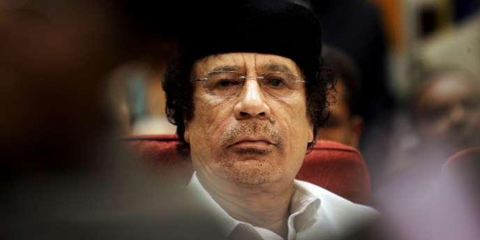 Le leader libyen a vu ses avoirs gelés aux Etats-Unis.