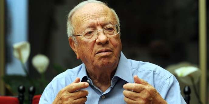 Béji Caïd Essebsi, le 18 juin 2009.