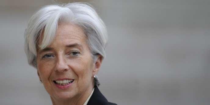 La ministre de l'économie et des finances, Christine Lagarde, le 18 février à Paris