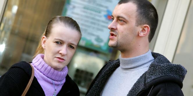 Sandrine et Franck Lavier, ici en novembre 2005, ont été placés en garde à vue, lundi 9 mai 2011, à Boulogne-sur-Mer, avant d'être relâchés dans la journée.