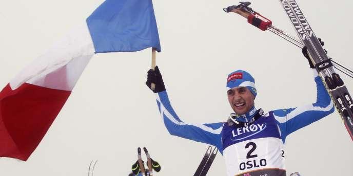 Jason Lamy-Chappuis, le 2 mars à Oslo.