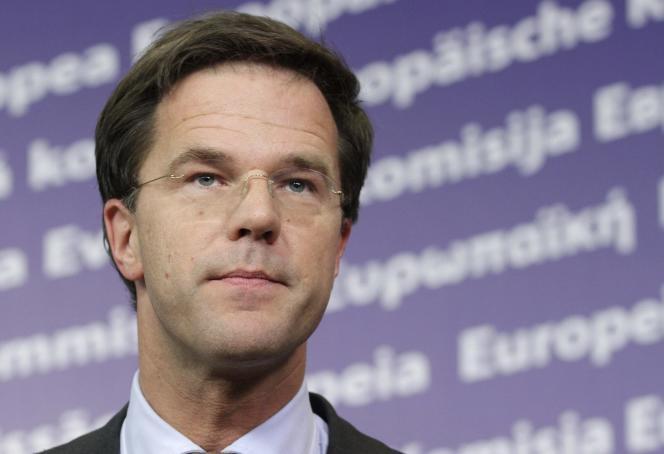 Mark Rutte, le premier ministre des Pays-Bas, en 2011.
