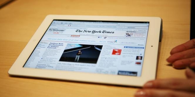 Un iPad d'Apple.
