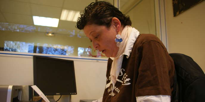 Christelle Rosar est employée à mi-temps d'une association pour anciens patients d'hôpitaux psychiatriques, Advocacy.