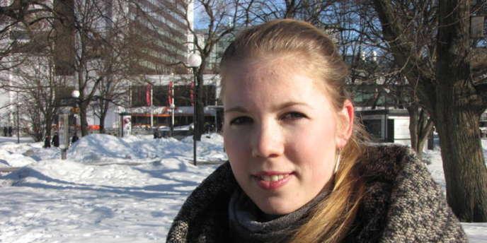 Heily Hindrea, 21 ans, étudiante.