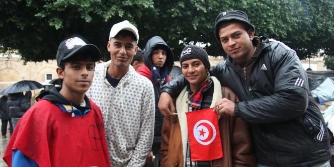 Les jeunes de Kasserine.