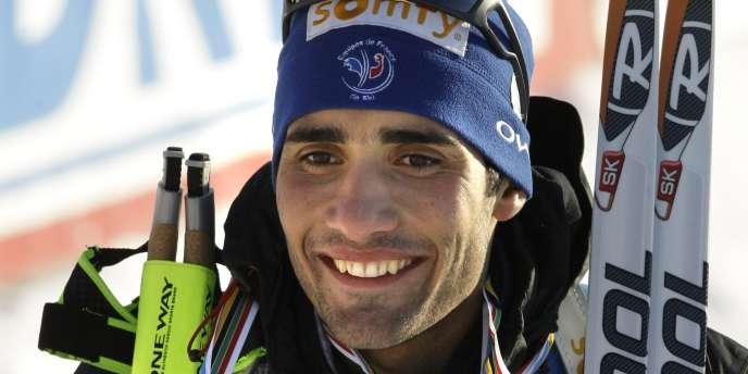 Déjà deux médailles pour Martin Fourcade aux Mondiaux de biathlon