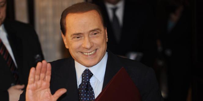 Silvio Berlusconi, à Helsinki, le 4 mars 2011.