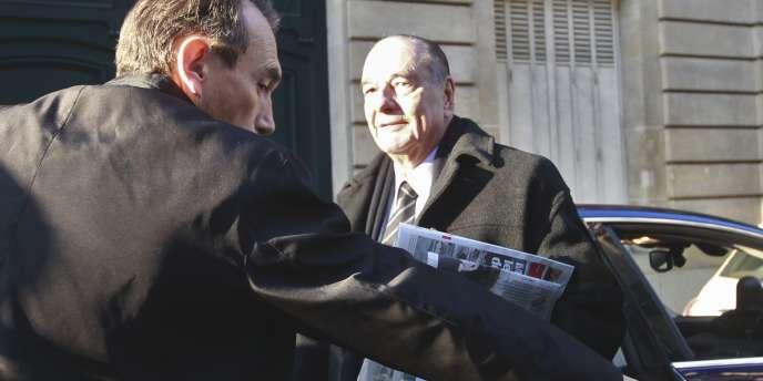 Jacques Chirac à Paris, le 7 mars 2011.