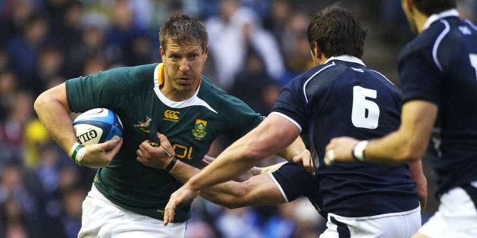 Bakkies Botha, ici en novembre 2010 sous le maillot sud-africain.