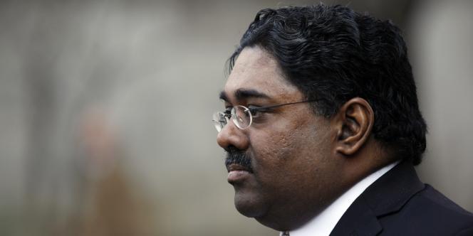 Raj Rajaratnam, créateur du fonds spéculatif Galleon, à New York, le 4 mars 2011.