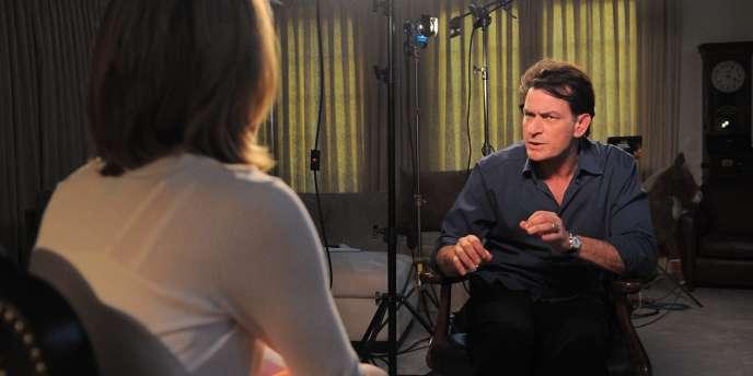 Charlie Sheen, lors d'une émission d'ABC, le 26 février 2011.
