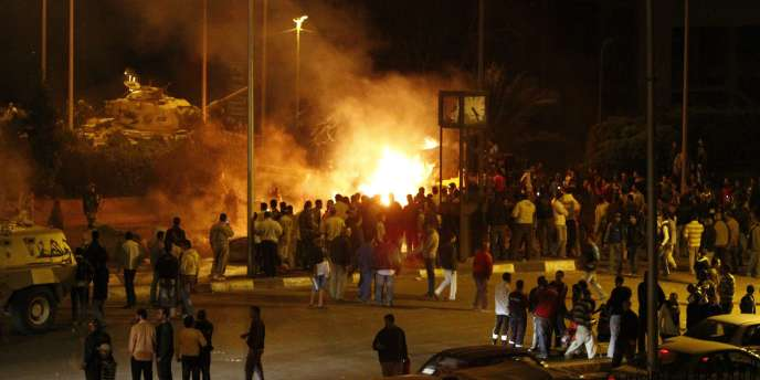 Les affrontements ont eu lieu mardi soir après que des chrétiens furent sortis manifester pour protester contre l'incendie d'une église, samedi, au sud de la capitale.