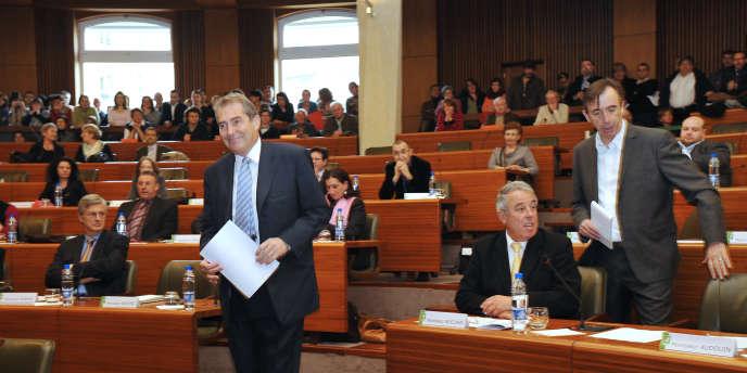 Le conseil régional du Limousin en 2010 après les élections.