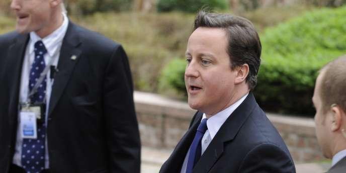 Le premier ministre britannique, David Cameron, a appelé avant le début du sommet ses partenaires européens à