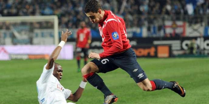 Le LOSC d'Eden Hazard est en tête, mais Marseille et Stéphane M'Bia croient encore au titre.