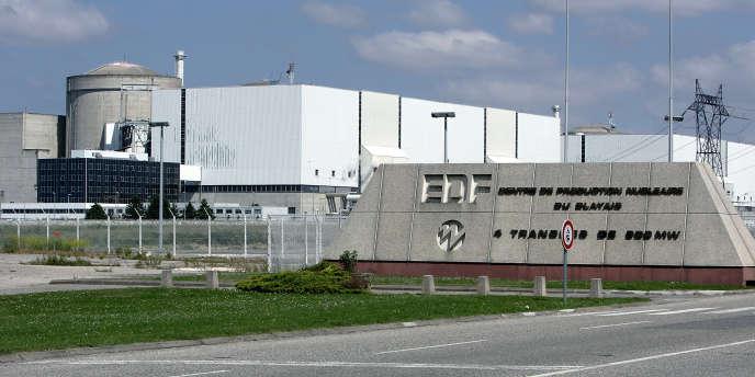 Vue d'ensemble de la centrale nucléaire du Blayais en Gironde en juin 2006.