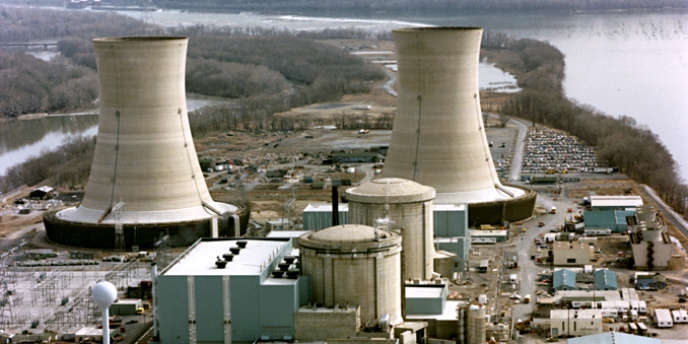 La centrale nucléaire de Three Mile Island en août 2006.