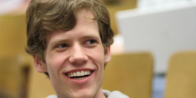 Christopher Poole, alias moot, créateur de 4chan et défenseur de l'anonymat sur Internet.