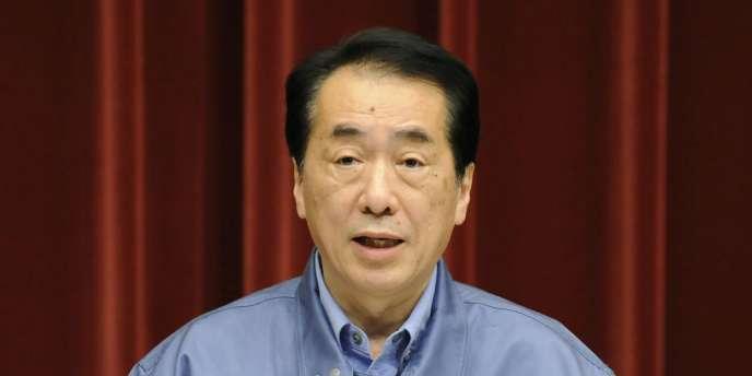 Naoto Kan, le premier ministre japonais, lors d'une conférence de presse à Tokyo, le 15 mars.