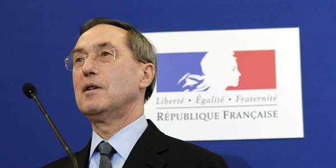 Le ministre de l'intérieur, Claude Guéant, à Paris, le 11 mars 2011.